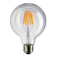 Lámpara Foco Led Globo Philco Filamento 4w E27 Luz Fria