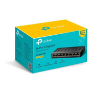 Switch Gigabit Com 8 Portas Tp-link Ls1008g 10/100/1000 Mbps