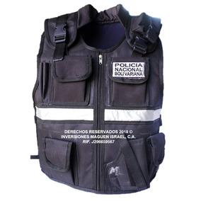 Forro Chaleco Comando Policía Nacional Bolivariana