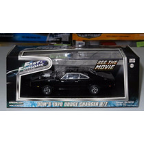 1:43 Dodge Charger Rt 1970 Rapido Y Furioso 1 Greenlight