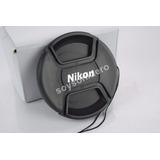 Tapa Cubre Lente Nikon 77mm Con Hilo D3100 D3000 D5100 D70