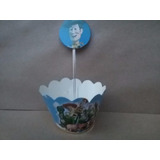 10 Saia P/ Mini Cup Cake + 10 Topper Toy Story R$ 15,99