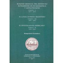 Libro Instituto Bonaerense Numismática Y Antiguedades 2006
