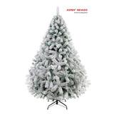 Arbol De Navidad Nevado De Lujo De Apariencia Natural 1.90m