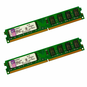 Kit 2x Memória Kingston Ddr2 2gb 667mhz Pc5300 Dual Channel