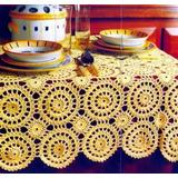 Manteles Tejidos A Mano-cortinas-vestidos-almohadones Croche