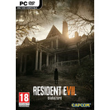 Resident Evil 7 Biohazard Pc Juego Fisico