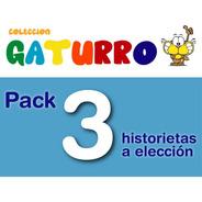 Pack X 3 Libros Gaturro - Nik - De La Flor