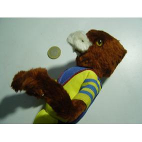 Vintage Figura Mascota En Alambrón Águila Del América Futbol