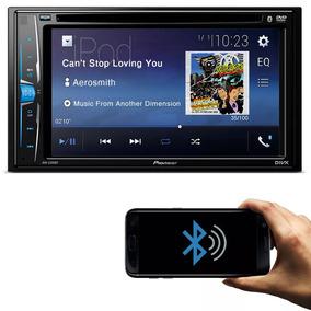 Dvd Player Automotivo Pioneer Avh-a208bt 2 Din 6.2