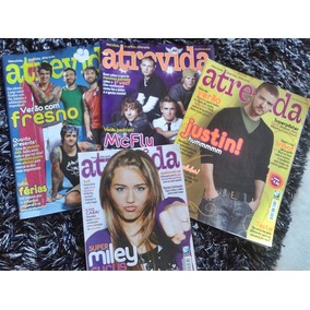 Kit Revistas- Miley Cyrus, Justin Timberlake, Mc Fly, Fresno