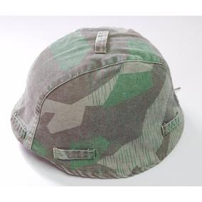 Camuflagem Capacete Alemão M35,m40,m42 Da 2ª Guerra Mundial
