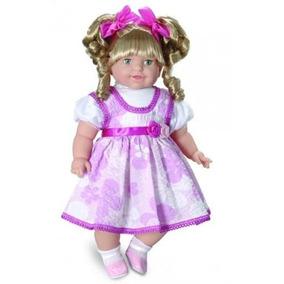 Boneca Grande Thaily 60cm Mais De 50 Frases Brinquedos Anjo