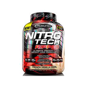 Proteína Nitro-tech Ripped 4 Lb Vainilla
