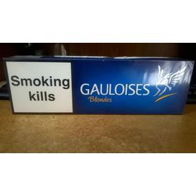Cigarrillos Gauloises Azul Importados 10 Box De 20 Lleno!!!