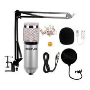 Kit Microfono Condenser Bm800 + Brazo + Antipop + Araña
