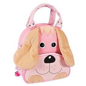 Mochila Infantil- Cachorro Rosa -bolsa Escola -rosa G
