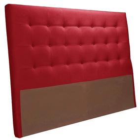 Cabeceira Estofada Queen Herval Mh 2650 158 Cm Vermelho