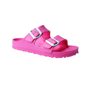 Sandalia Mujer Arizona Eva Neon Pink - Birkenstock Oficial