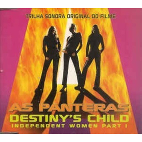 Cd-single-as Panteras-destiny´s Child-independent Women Part