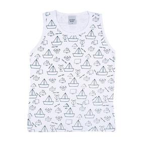 Regata Junkes Baby Infantil Masculina Estampa Paper Boat c7ddd5990e4