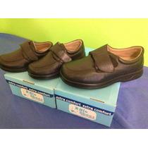 Zapato 100% Piel Marca Bio Shoes Ideal Para Piel Diabetico