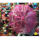 Paragua Encaje (grande) - Sombrilla China Tela Encaje
