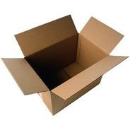 Caja De Carton 32x22x13 Caja Envio Paq 25 Pzas Para Empaque