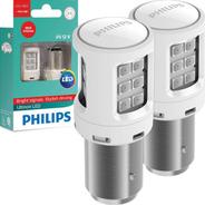 Kit Lâmpada Philips Led Ultinon P21/5 2 Polos Freio Lanterna