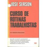 Curso De Rotinas Trabalhistas (9195)
