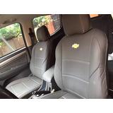Capa Banco Carro Couro S10 Pick-up Lt 2.4 Flex 4x2 Cd 2018