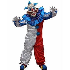 Disfraz Adulto Payaso Asesino Traje Terror Miedo Halloween