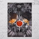 Poster Cartaz Death Note Caderno Da Morte A3