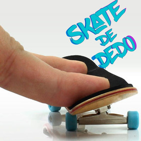 Fingerboard Skate De Dedo Madeira Rolamento Profissional