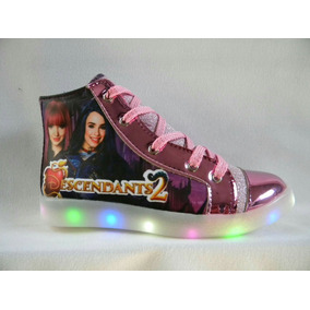 Zapatillas Descendientes Luces Led Soy Luna Lady Bug