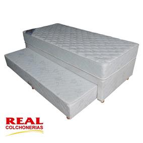 Cama Marinera Box 1 1/2 Plazas (90 X 200) Y Envio Gratis