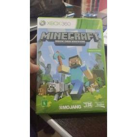 Jogo Xbox 360 Minecraft Midia Fisica