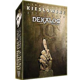 Coleção Completa Box Decálogo 3 Dvds Coleção Kieslowski