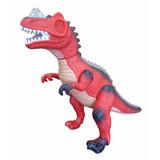 Dinosaurio Tiranosaurio Rex Con Luz Y Sonido 20 Cm