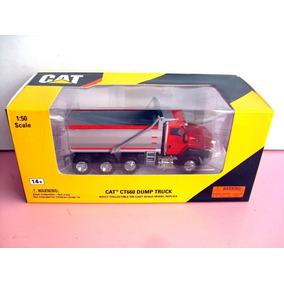 Camion De Volteo Cat Ct660 Dump Truck Escala 1:50 Rojo