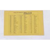 Zanella Jr200 Electrico Manual Pieza De Repuesto Motos Raras