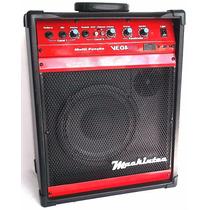 Caixa Amplificada Multiuso Mackintec Vega 100 25w Rms Fal.8