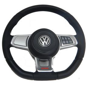 Volante Gol G5 G6 G7 Novo Golf Mk7 2016 Controle De Som