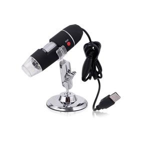 Microscopio Digital Usb 500x Zoom Optico 8 Led Windows