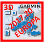 Mapa Garmin Europa 3d Para Gps Nuvi Ultima Version