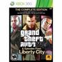 Gta 4 & Liberty City Xbox 360 Original Nuevo Sellado Fisico
