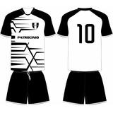 Jogo 15 Camisas 15 Calções Personalizado Futebol Dry Sport