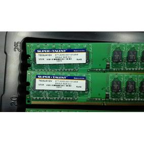 Memoria Ram Ddr2 1gb 533 Super Talent Importada Somos Tienda