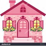 Painel Sublimado Casa De Boneca 2,0 Alt X 3,0 Larg S/emenda