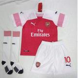 Kit Infantil Arsenal Home 2018/2019 - Pronta Entrega